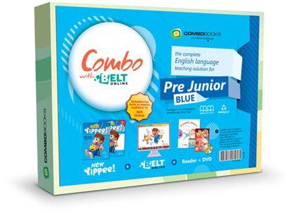 Εικόνα της Combo with BELT Online Pack Pre Junior Class New Yippee Blue