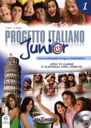 Εικόνα της PROGETTO ITALIANO JUNIOR 1 STUDENTE (+ CD)