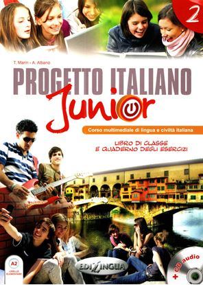Εικόνα της PROGETTO ITALIANO JUNIOR 2 STUDENTE (+ CD)
