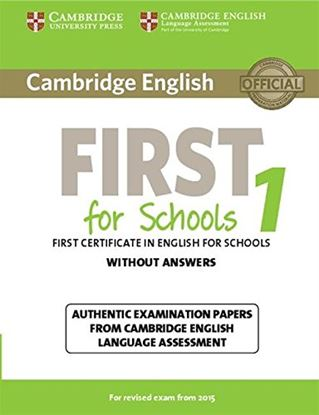 Εικόνα της CAMBRIDGE ENGLISH FIRST FOR SCHOOLS 1WO/A N/E