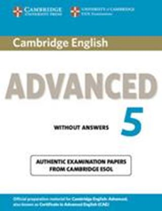 Εικόνα της CAMBRIDGE CERTIFICATE IN ADVANCED ENGLISH 5 SB WO/A @