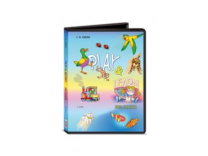 Εικόνα της PLAY & LEARN PRE JUNIOR CDS(4)