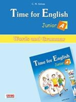Εικόνα της TIME FOR ENGLISH JUNIOR A WORDS &  GRAMMAR