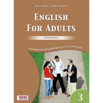 Εικόνα της ENGLISH FOR ADULTS 3 COURSEBOOK