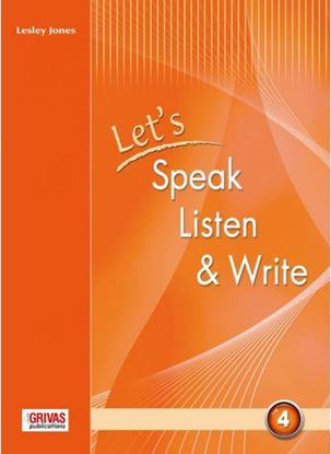 Εικόνα της LET'S SPEAK LISTEN WRITE 4