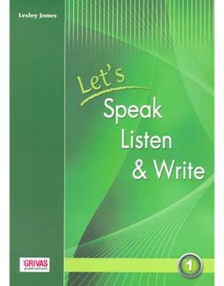 Εικόνα της LET'S SPEAK LISTEN WRITE 1 STUDENTS
