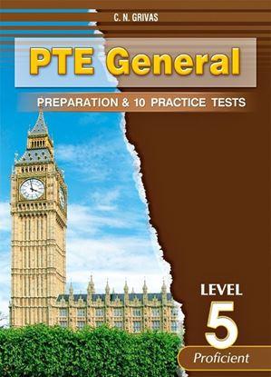 Εικόνα της PTE GENERAL LEVEL 5 PREPARATION & 10 PRACTICE TESTS SB