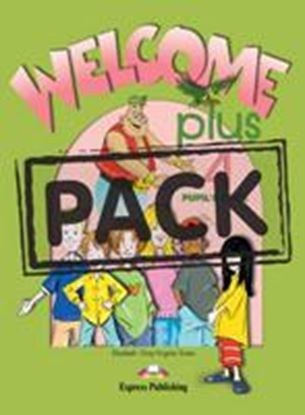 Εικόνα της WELCOME PLUS 4 PUPIL'S BOOK (WITH AUDIO CD & ZACHARY & the Frost lings cross-platform game)
