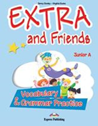 Εικόνα της EXTRA & FRIENDS JUNIOR A VOCABULARY AND GRAMMAR PRACTICE GREECE