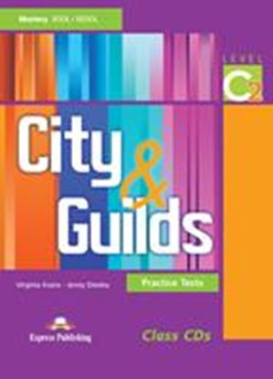 Εικόνα της CITY & GUILDS PRACTICE TESTS LEVEL C2 CLASS CD'S (SET OF 3)