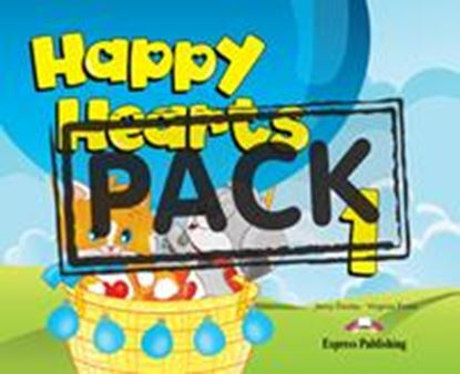 Εικόνα της HAPPY HEARTS 1 PUPIL'S PACK  (Pupil's  book, press outs, extra optional, stickers, multirom1) (NEW)