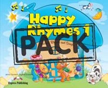 Εικόνα της HAPPY RHYMES 1 PUPIL'S PACK 2 (CD & DV D PAL)