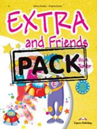 Εικόνα της EXTRA & FRIENDS PRE-JUNIOR ieBOOK PACK  (GREECE) (Pupil_s book, Alphabet Book, Pupil's CD/DVD (MULTI-R