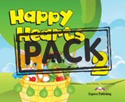 Εικόνα της HAPPY HEARTS 2 PUPIL'S PACK (Pupil's book, press outs, extra op tional, stickers, multirom) (NEW)