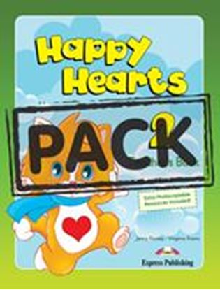 Εικόνα της HAPPY HEARTS 2 TEACHER'S MINI PACK (WITH MULTI ROM PAL)??(Pupil' s book with stickers & press outs, Te