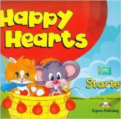 Εικόνα της HAPPY HEARTS STARTER PUPIL'S PACK (MULTI ROM PAL) NEW (Pupil's, MULTI ROM PAL, Press outs, Stickers