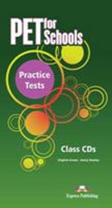 Εικόνα της PET FOR SCHOOLS PRACTICE TESTS AUDIO CDS (SET OF 5) INTERNATIONA L)