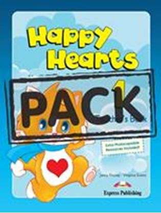 Εικόνα της HAPPY HEARTS 1 TEACHER'S MINI PACK WITH SONGS CD/MULTIROM1 (Pupi l's book with stickers & press outs,