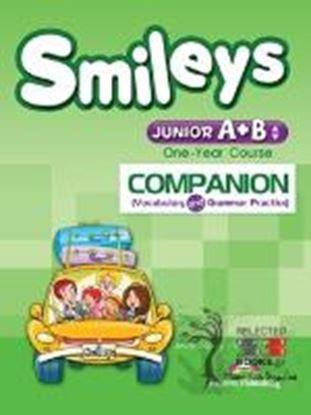 Εικόνα της SMILEYS JUNIOR A+B ONE YEAR COURSE COM PANION  (VOCABULARY & GRAMMAR PRACTICE) (GREECE)