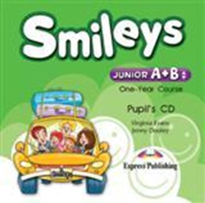 Εικόνα της SMILEYS JUNIOR A+B ONE YEAR COURSE PUPIL'S CD (GREECE)
