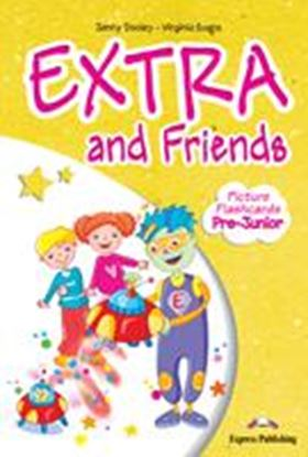 Εικόνα της EXTRA & FRIENDS PRE JUNIOR PICTURE FLASHCARDS GREECE