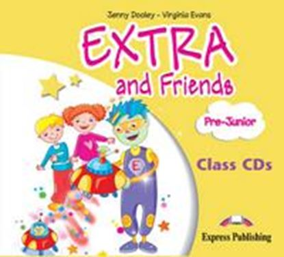 Εικόνα της EXTRA & FRIENDS PRE-JUNIOR CLASS CDs (SET OF 2) GREECE