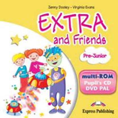 Εικόνα της EXTRA & FRIENDS PRE-JUNIOR MULTI-ROM PAL