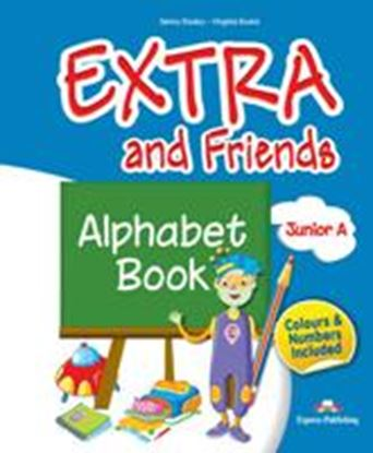 Εικόνα της EXTRA & FRIENDS JUNIOR a ALPHABET BOOK (GREECE)