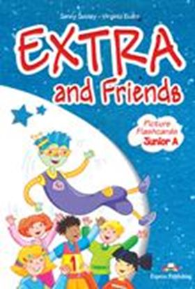 Εικόνα της EXTRA & FRIENDS JUNIOR a PICTURE FLASHCARDS (GREECE)