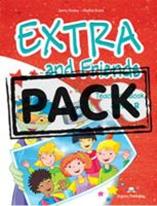 Εικόνα της EXTRA & FRIENDS JUNIOR B T'S BOOK (INTERLEAVED WITH POSTERS) GRE ECE