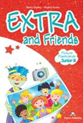 Εικόνα της EXTRA & FRIENDS JUNIOR B PICTURE FLASHCARDS (GREECE)