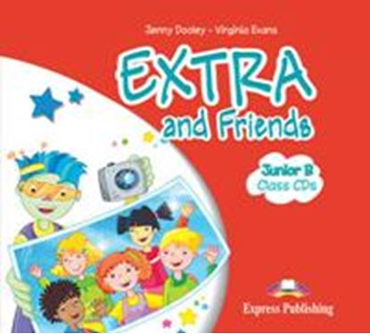 Εικόνα της EXTRA & FRIENDS JUNIOR B CLASS CD'S (SET OF 2) GREECE
