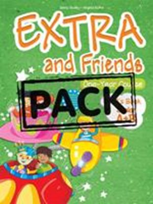 Εικόνα της EXTRA AND FRIENDS JUNIOR A+B ONE YEARCOURSE ieBOOK PACK (GREECE) (Pupil_s book, Alphabet Book, DVD,