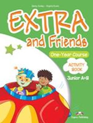 Εικόνα της EXTRA & FRIENDS JUNIOR A+B ONE YEAR COURSE ACTIVITY BOOK (GREECE )