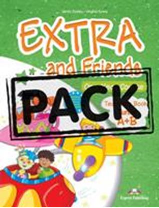 Εικόνα της EXTRA & FRIENDS JUNIOR A+B TEACHER'S BOOK (INTERLEAVED WITH POST ERS) (GREECE)