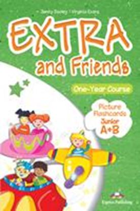 Εικόνα της EXTRA & FRIENDS JUNIOR A+B PICTURE FLASHCARDS