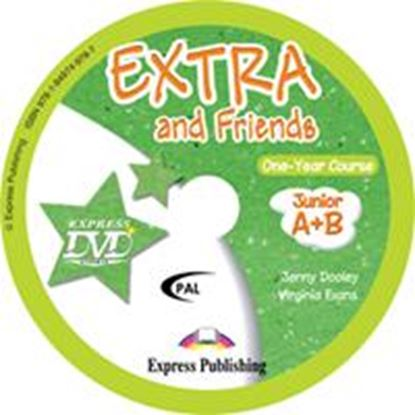 Εικόνα της EXTRA & FRIENDS JUNIOR A+B DVD PAL (GREECE)