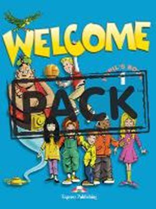 Εικόνα της WELCOME 1 PUPIL'S PACK 1 (WITH MY ALPH ABET BOOK  & DVD PAL & ZACHARY & the Bitterlings cross-platform