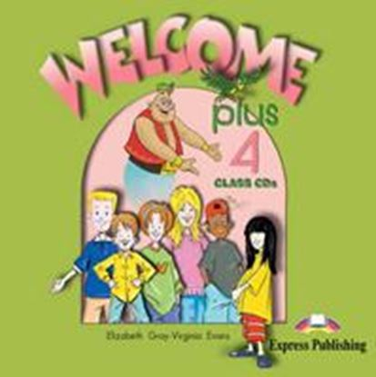 Εικόνα της WELCOME PLUS 4 CLASS CDs (SET OF 2)