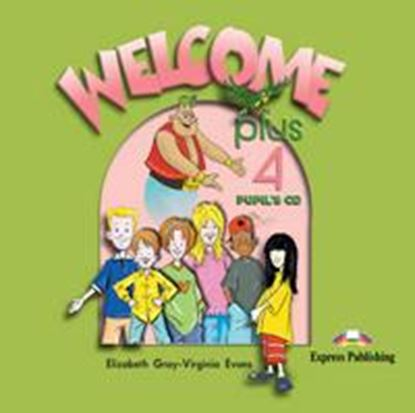 Εικόνα της WELCOME PLUS 4 PUPIL'S CD