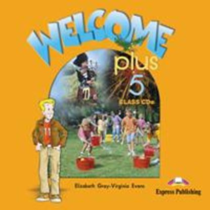 Εικόνα της WELCOME PLUS 5 CLASS CDs (SET OF 2)