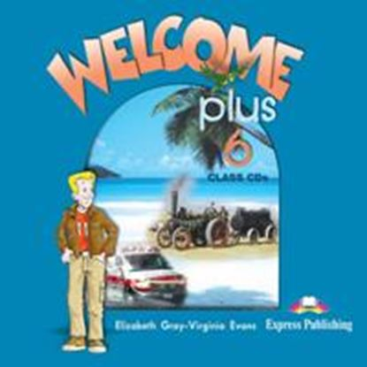 Εικόνα της WELCOME PLUS 6 CLASS CDs (SET OF 2)