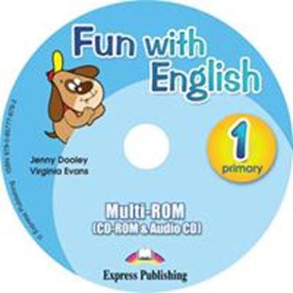 Εικόνα της FUN WITH ENGLISH 1 PRIMARY MULTI-ROM INTERNATIONAL (AUDIO CD+CD- ROM)