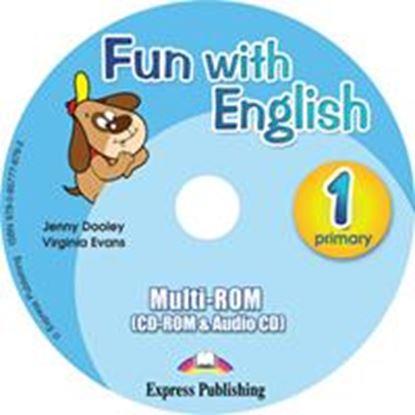 Εικόνα της FUN WITH ENGLISH 1 PRIMARY MULTI-ROM INTERNATIONAL (AUDIO CD+CD- ROM)