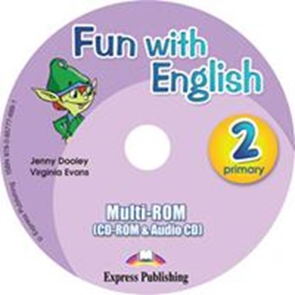 Εικόνα της FUN WITH ENGLISH 2 PRIMARY MULTI-ROM INTERNATIONAL (AUDIO CD+CD- ROM)