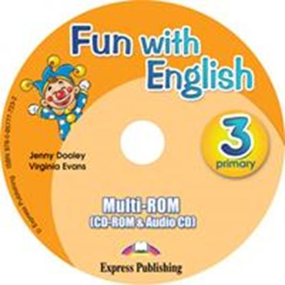 Εικόνα της FUN WITH ENGLISH 3 PRIMARY MULTI-ROM INTERNATIONAL (AUDIO CD+CD- ROM)