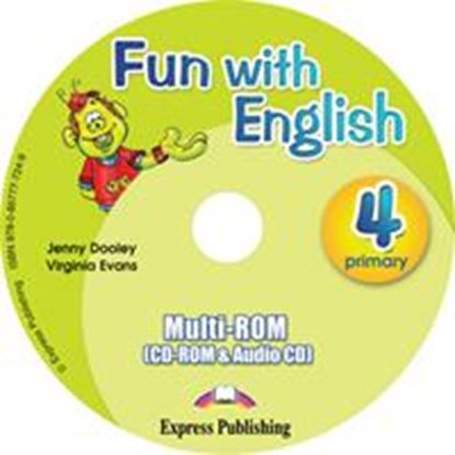 Εικόνα της FUN WITH ENGLISH 4 PRIMARY MULTI-ROM I NTERNATIONAL (AUDIO CD+CD-ROM)