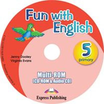 Εικόνα της FUN WITH ENGLISH 5 PRIMARY MULTI-ROM I NTERNATIONAL (AUDIO CD+CD-ROM)