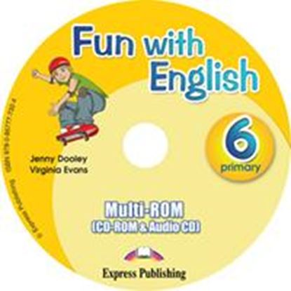 Εικόνα της FUN WITH ENGLISH 6 PRIMARY MULTI-ROM INTERNATIONAL (AUDIO CD+CD- ROM)