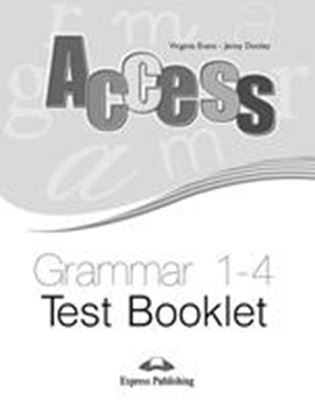 Εικόνα της ACCESS 1-4 GRAMMAR TEST BOOKLET (INTERNATIONAL)